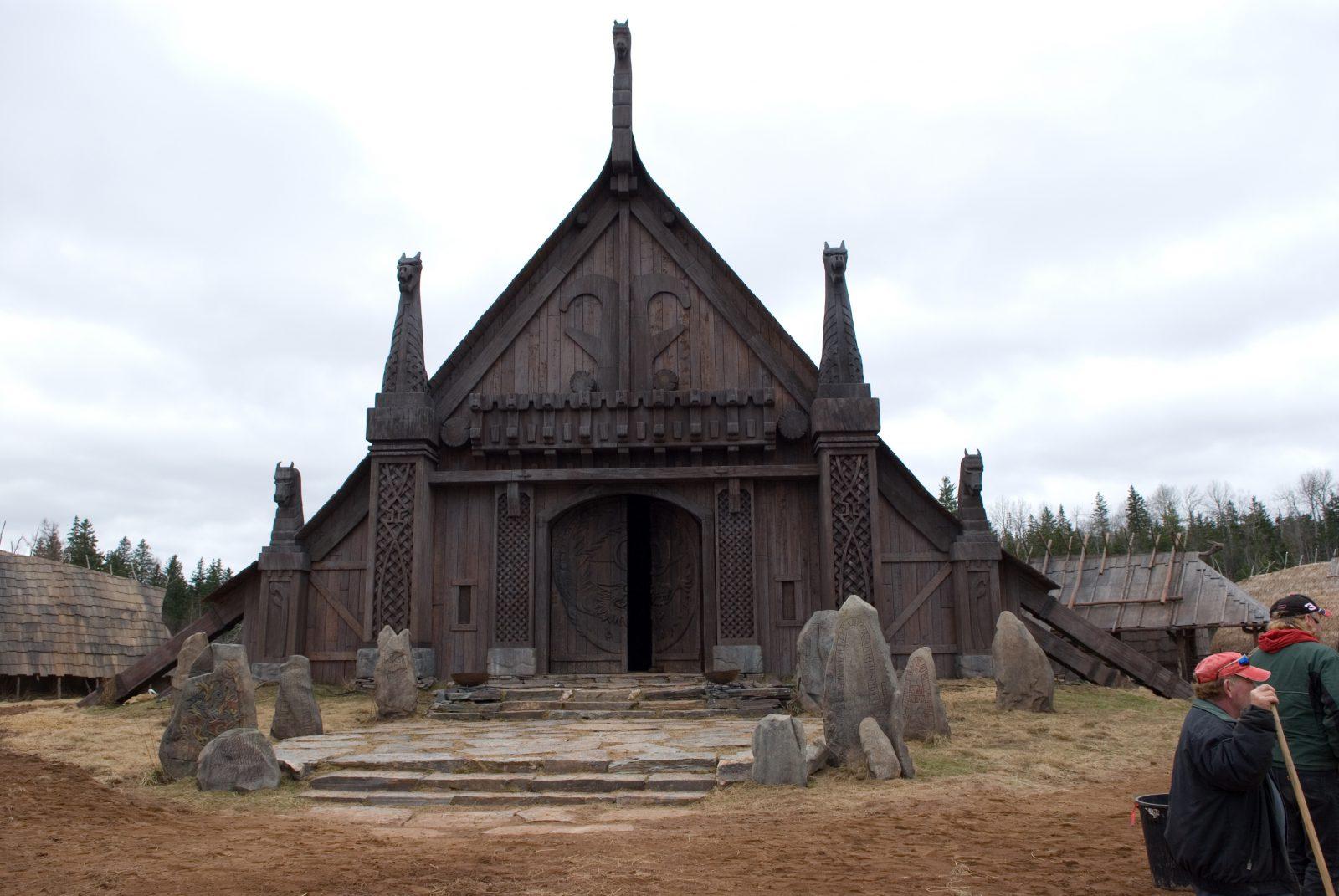 Viking temple