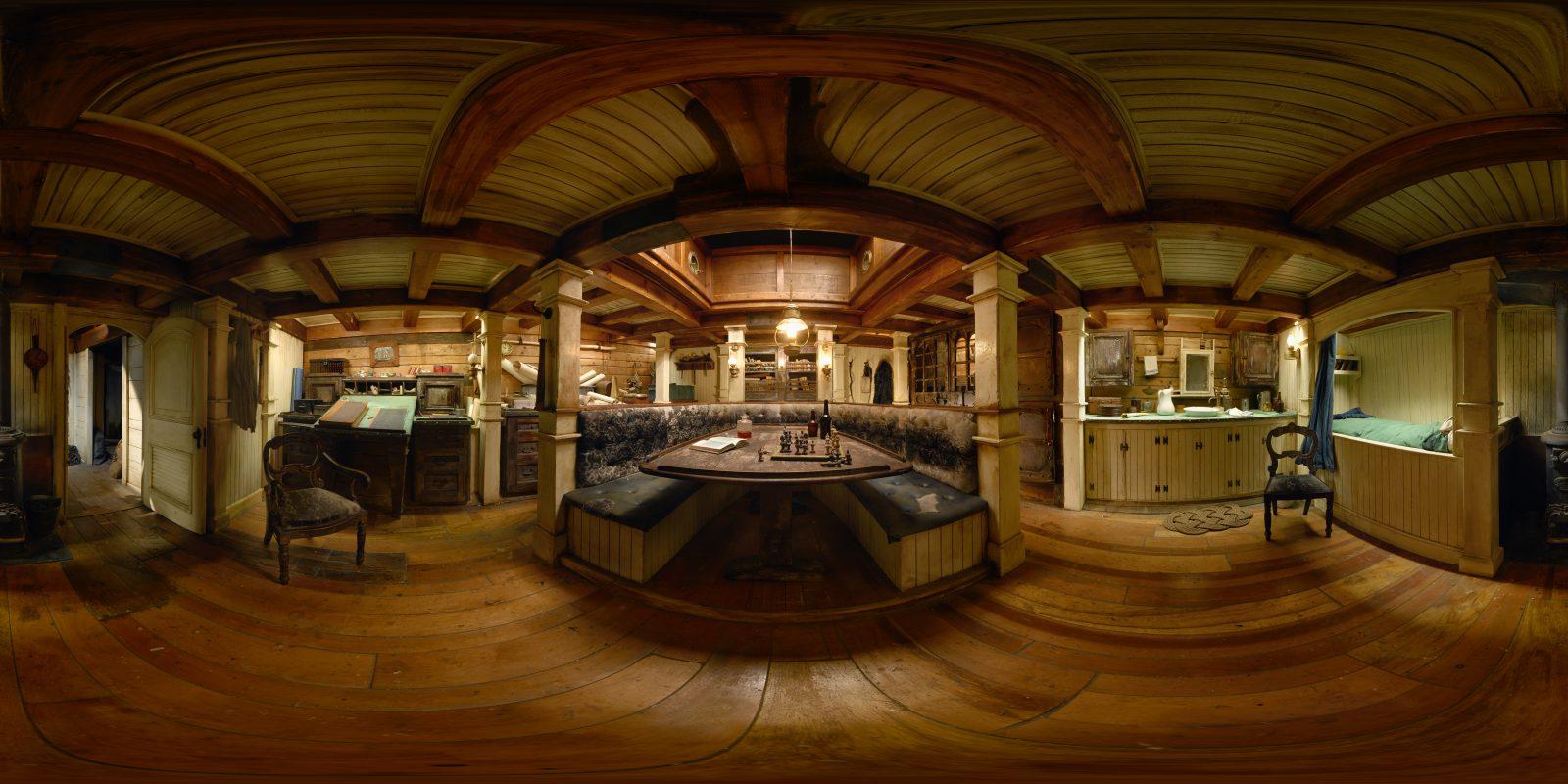 Interior, ship