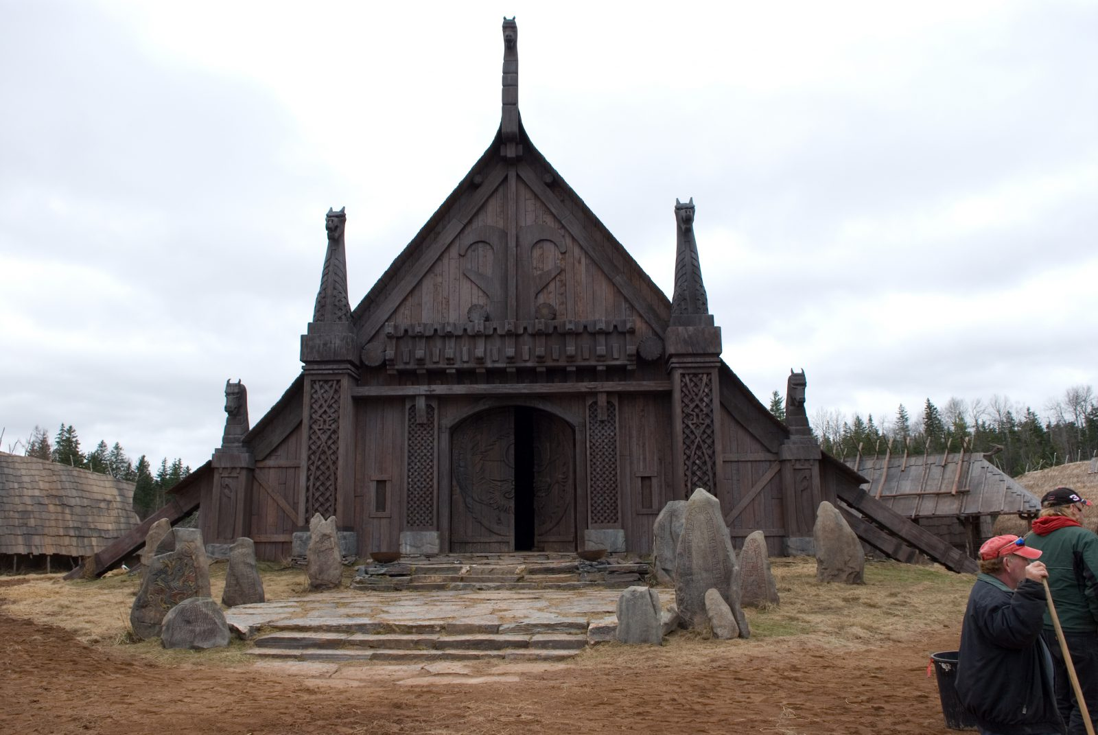 Viking temple